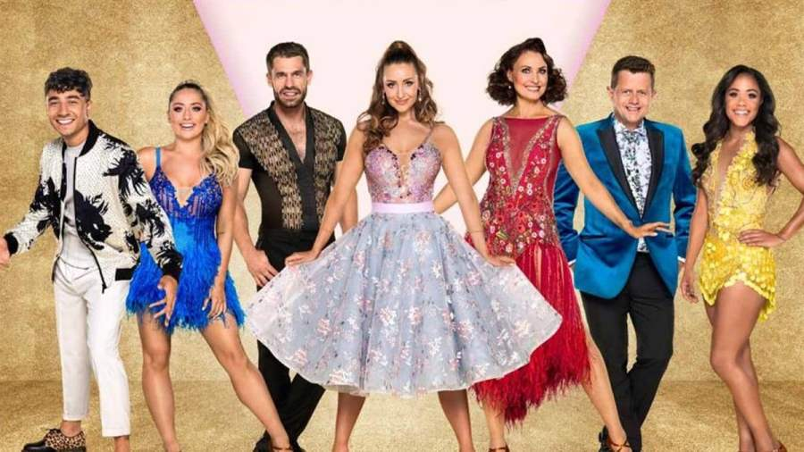 strictly come dancing tour line up b
