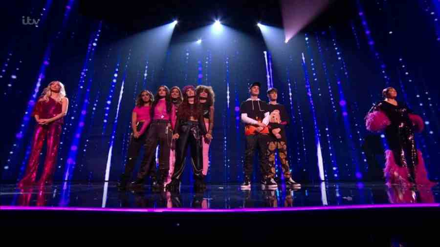 x factor celebrity final group results
