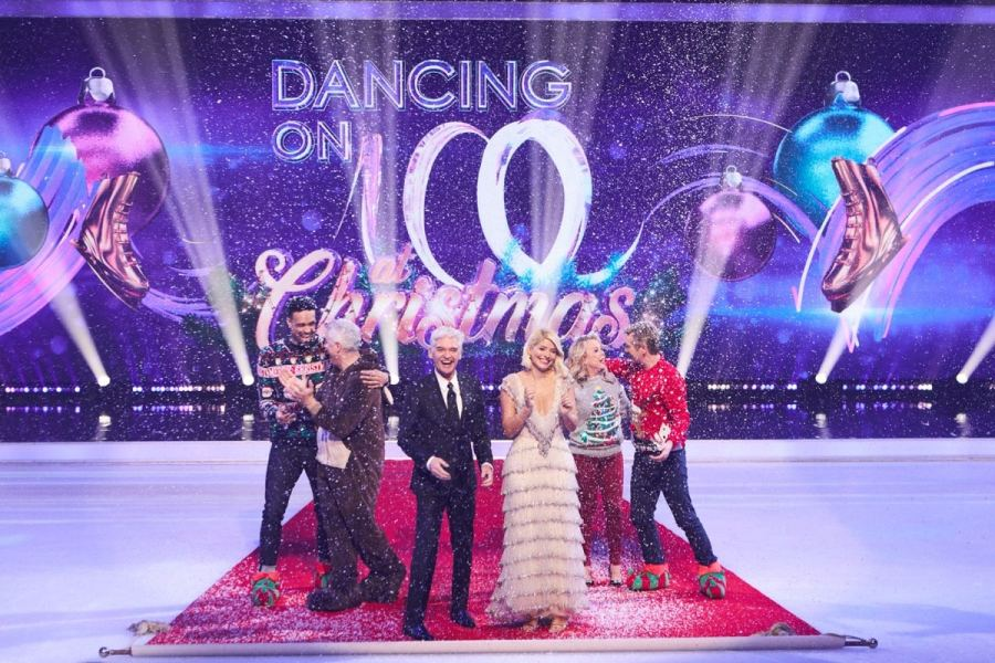 Dancing On Ice At Christmas on ITV