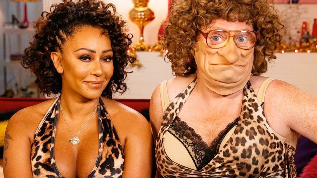 Melanie Brown Cardboard Celebrity Mask X Factor and Scary Spice Girls Mel B