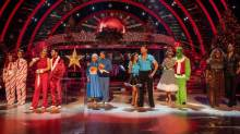 strictly come dancing christmas special results winner