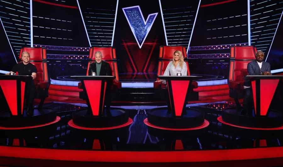 The Voice UK 2020 coaches