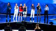 X Factor results band