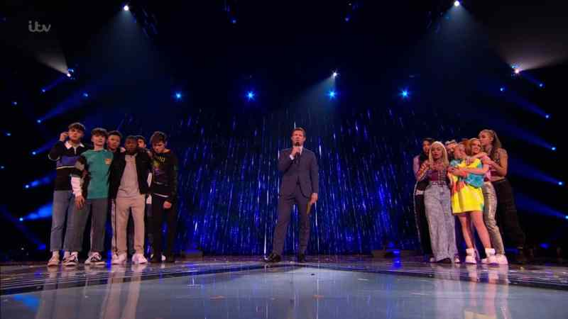 x factor the band results 1 winner