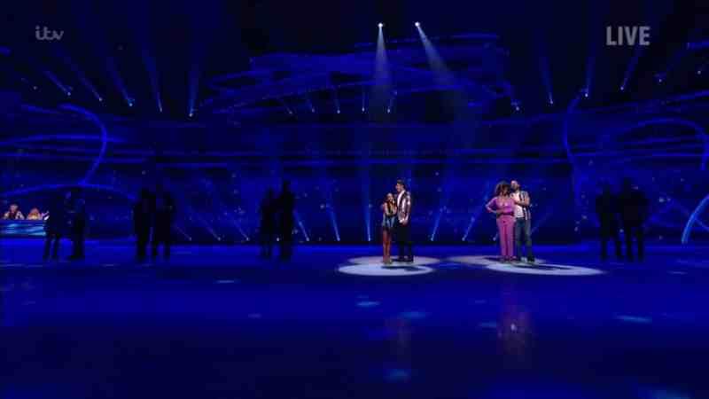dancing on ice 2020 results week 1