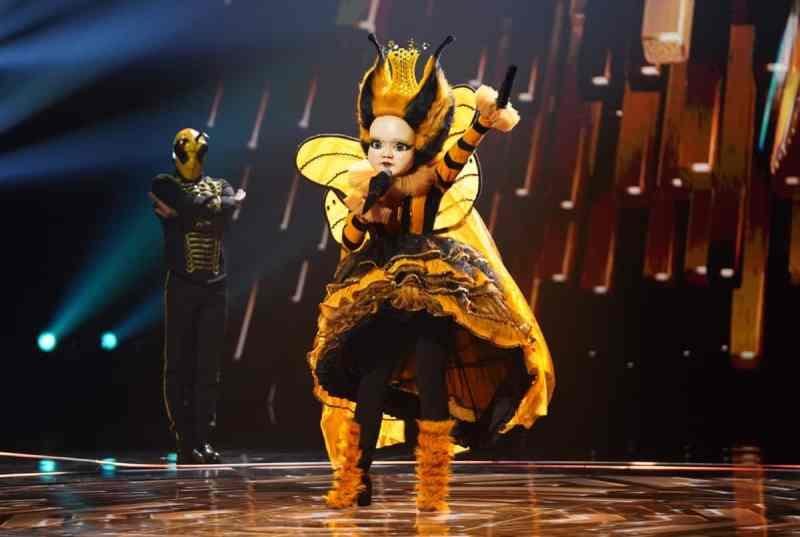 Queen Bee performs.