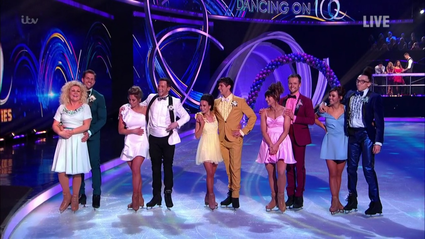 Dancing On Ice 2020 Results Who Left Seventh Celebrity Voted Off Dancing On Ice 2021 Tellymix
