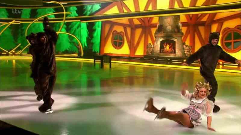lisa dancing on ice 2
