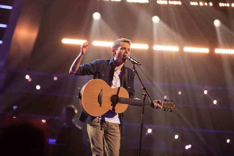 Alex Buckley performs.