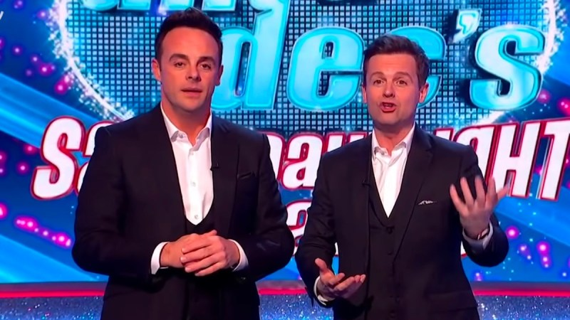 ant and dec saturday night takeaway