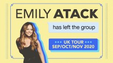 emily atack 2020 tour tickets