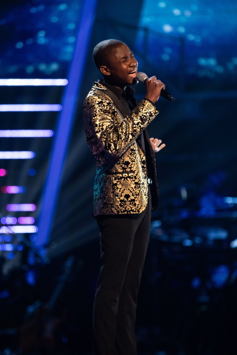 Team Will: Gevanni Hutton performs.
