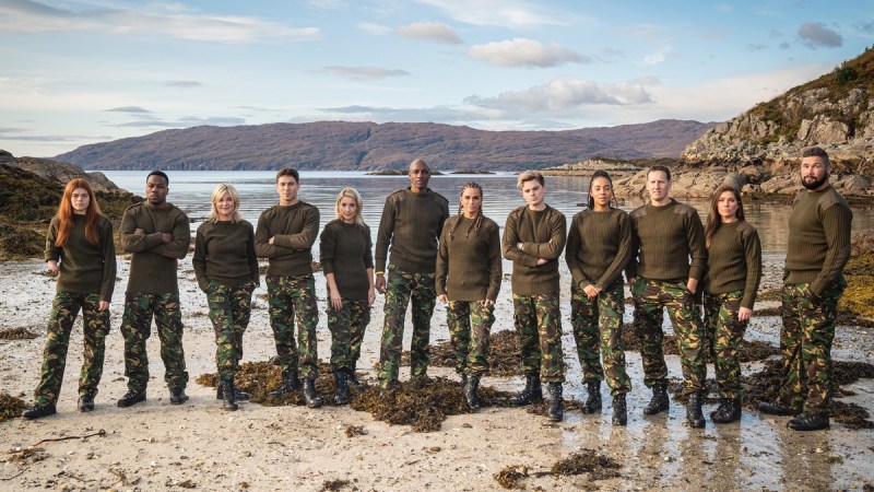 SAS Who Dares Wins celebrity contestants line up