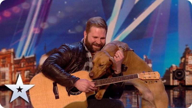 singing dog bgt