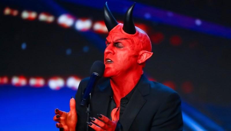 Dev, the ruler of Hell.