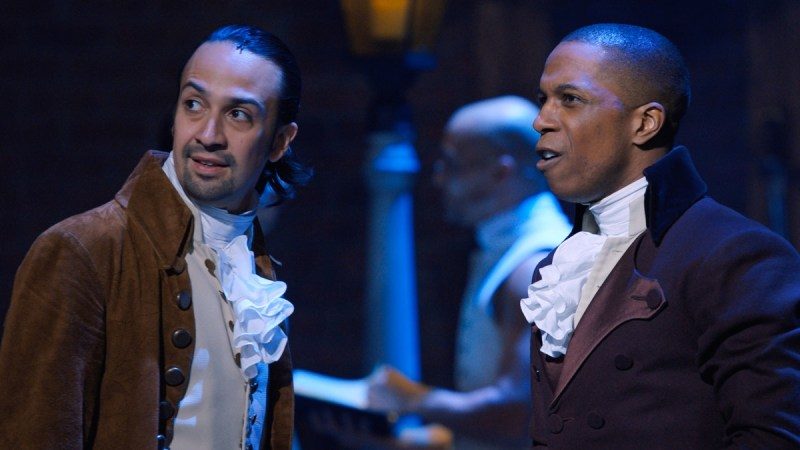 hamilton movie trailer disney plus