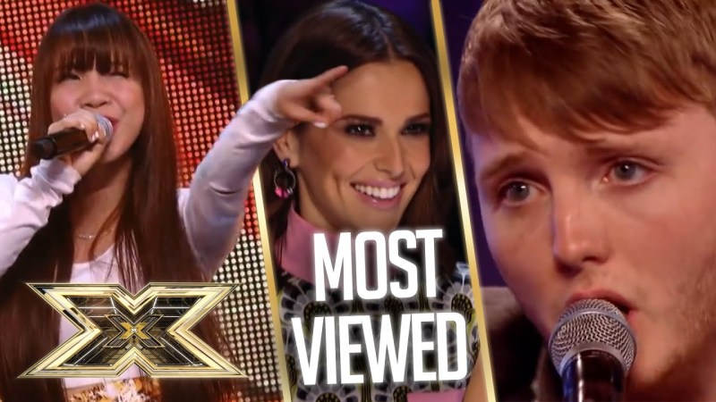 x factor most watched auditions