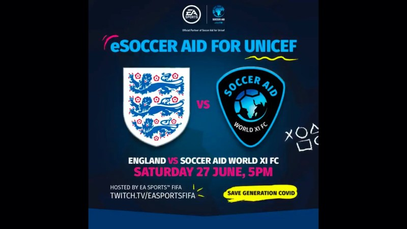 Host Of Stars Announced For Live Esoccer Aid Including Robbie Williams Usain Bolt And Liam Payne Tv Tellymix