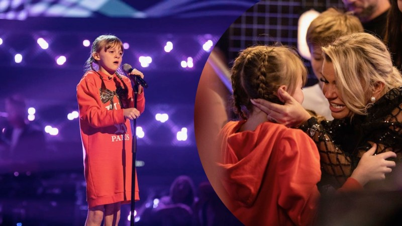 Kerry Katona's Daughter Heidi Gives Emotional Audition On