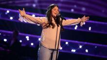 Gracie performs.