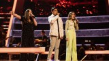 Team Danny: Gracie, Jarren and Daria perform.