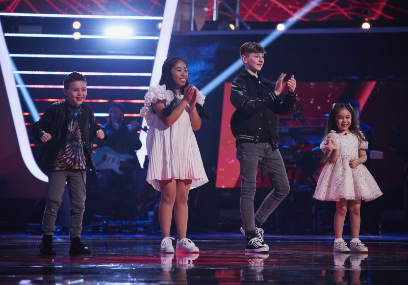 The Voice Kids UK 2020 results