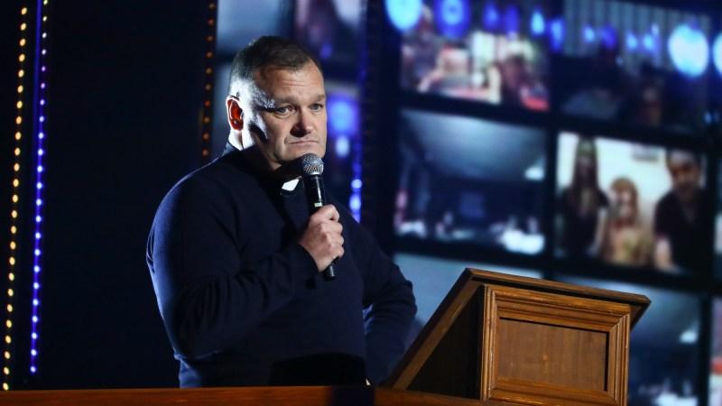 Comedian Allan Finnegan