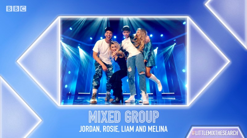 little mix the search mixed group