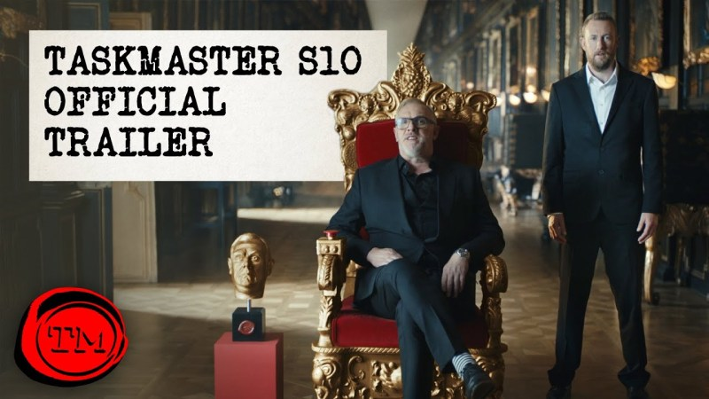 taskmaster series 10 trailer