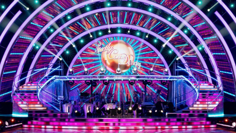 Strictly Come Dancing 2020 studio