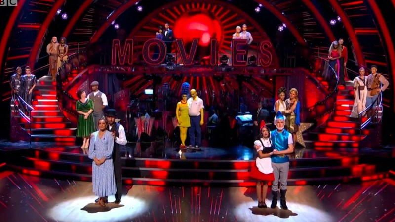 strictly 2020 results week 2
