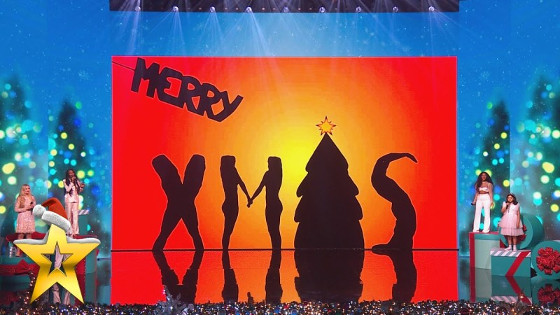 bgt christmas attraction singers