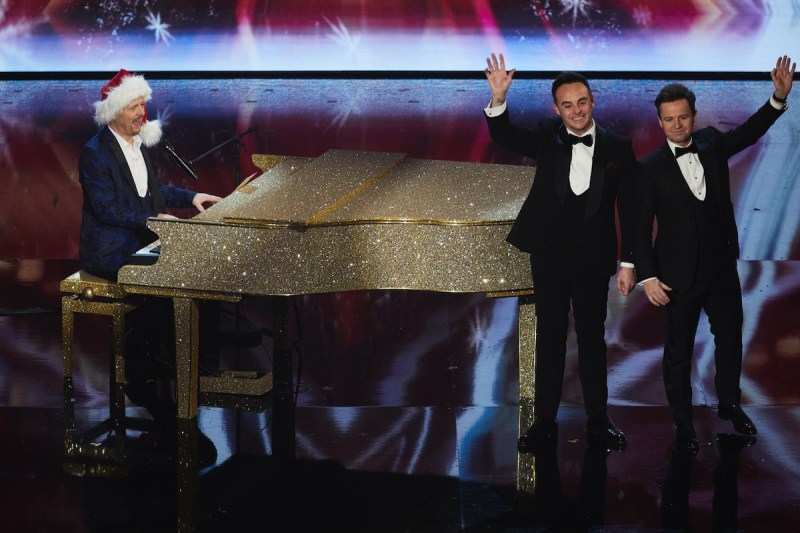 Jon Courtenay and Ant & Dec. Picture: ©Syco/Thames