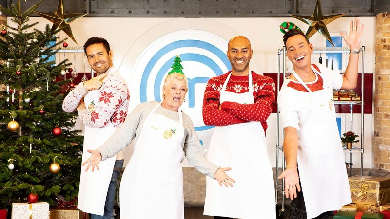 celebrity masterchef christmas