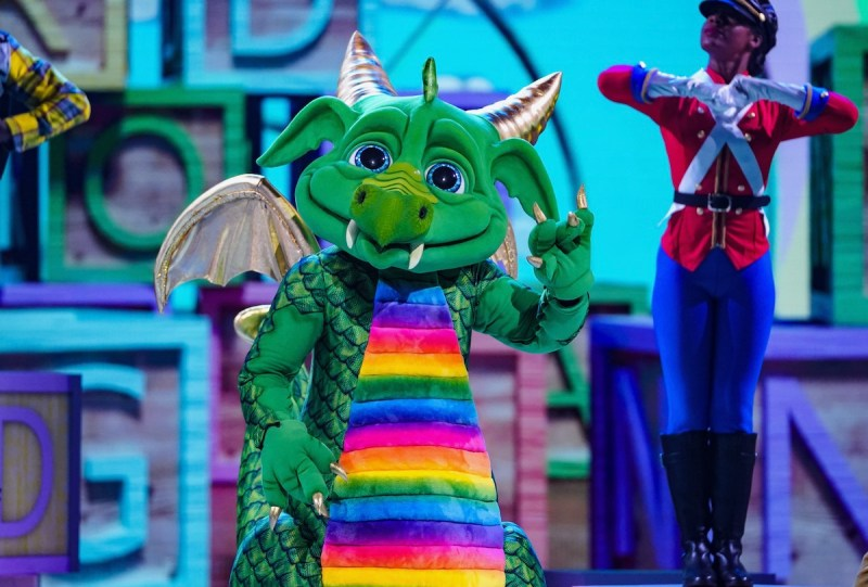 Dragon on The Masked Singer