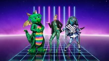 Dragon, Rita Ora and Alien. Picture: ITV