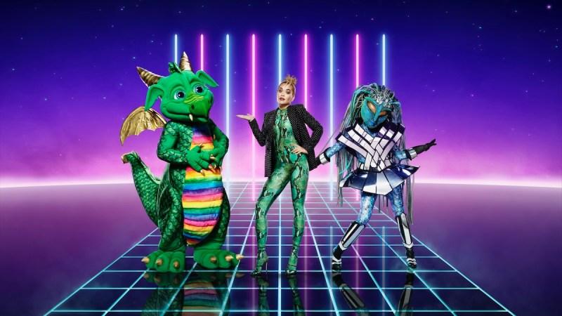 Dragon, Rita Ora and Alien. Picture: ITV
