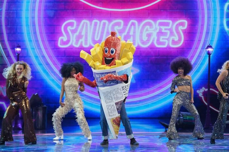 Sausage on The Masked Singer