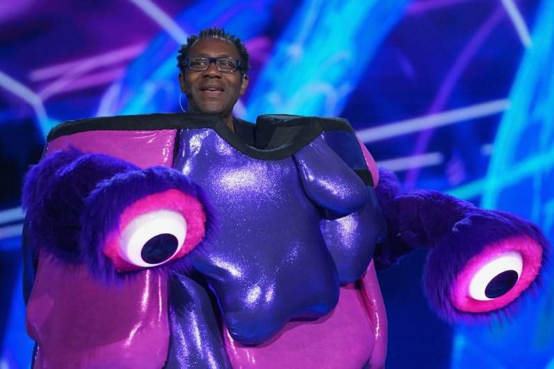 Blob is SIR LENNY HENRY