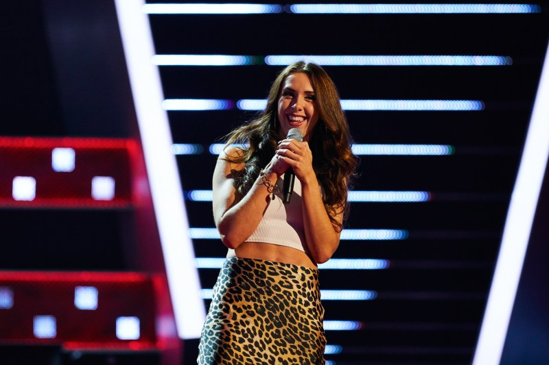 The Voice UK: SR5: Ep1 on ITV - Lauren Drew