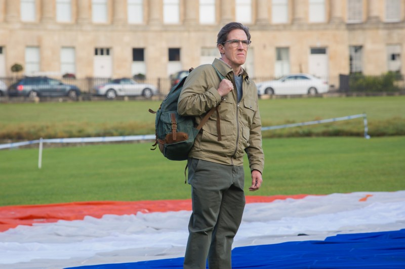 ROB BRYDON as Roy.