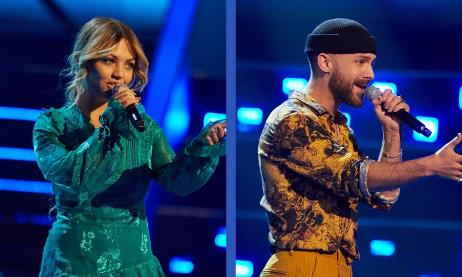 Team Anne-Marie: Chanel Yates and Sweeney perform.