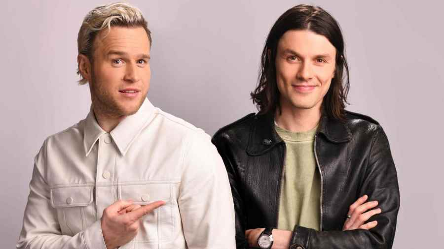 Olly Murs and James Bay