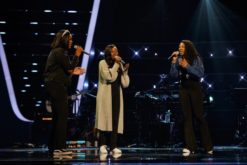 Psalm Harmony [Chelsea, CJ and Emmanuella] perform.