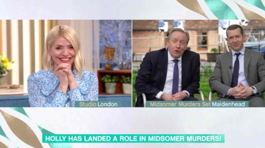 Holly Willoughby lands guest role in Midsomer Murders