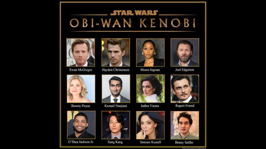 Obi-Wan Kenobi series cast disney