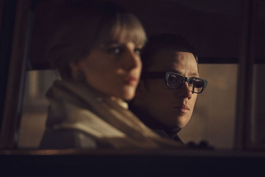JOE COLE as Harry Palmer,LUCY BOYNTON as Jean TOM HOLLANDER as Dalby. Picture: ALTITUDE TV FOR ITV