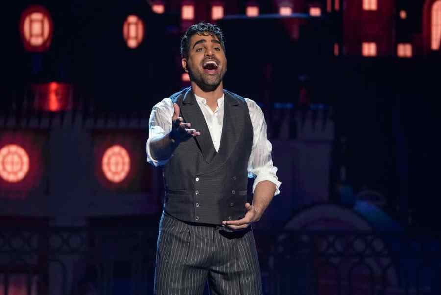 Dr Ranj Singh performs Come What May from Moulin Rouge.