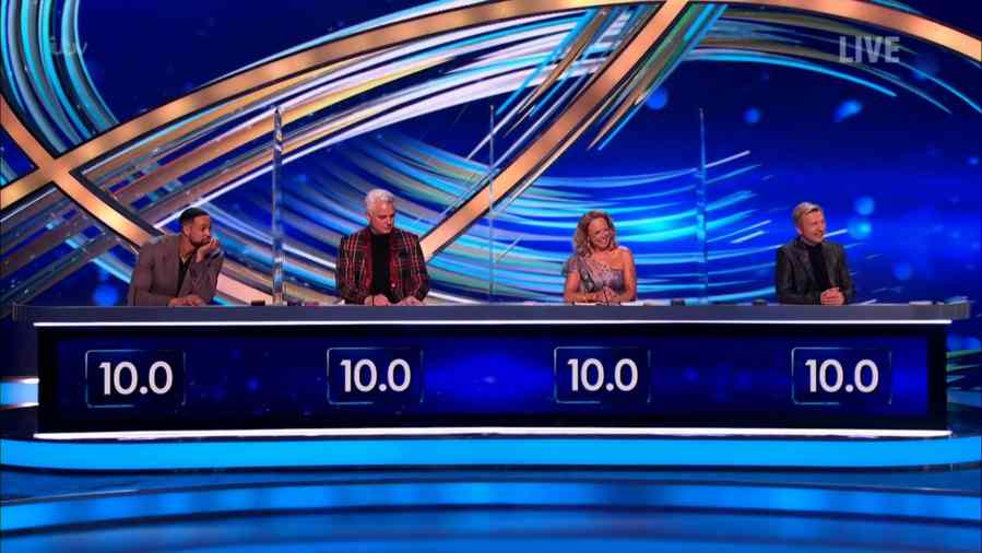 dancing on ice 2021 results semi-final scores