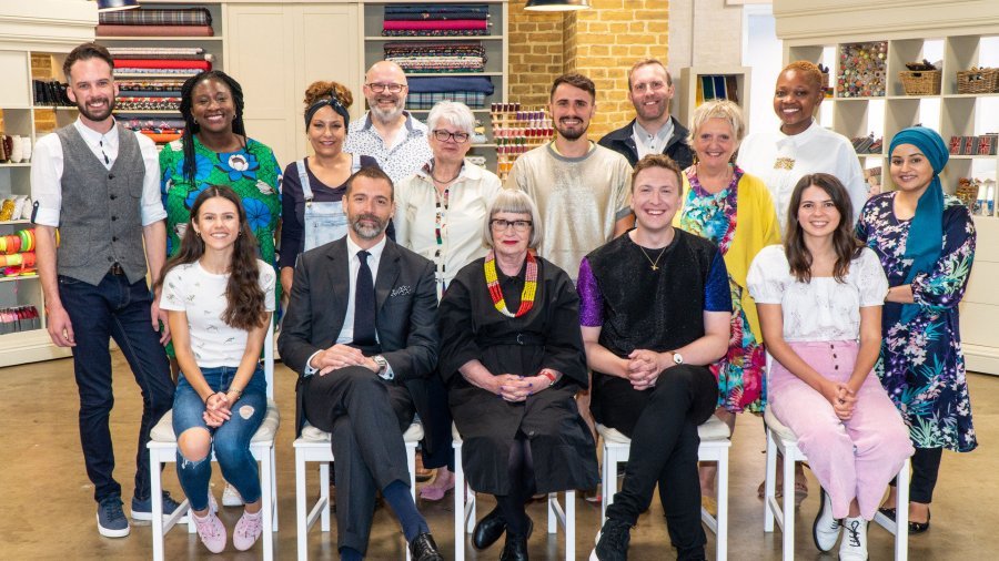 the great british sewing bee 2021 line up